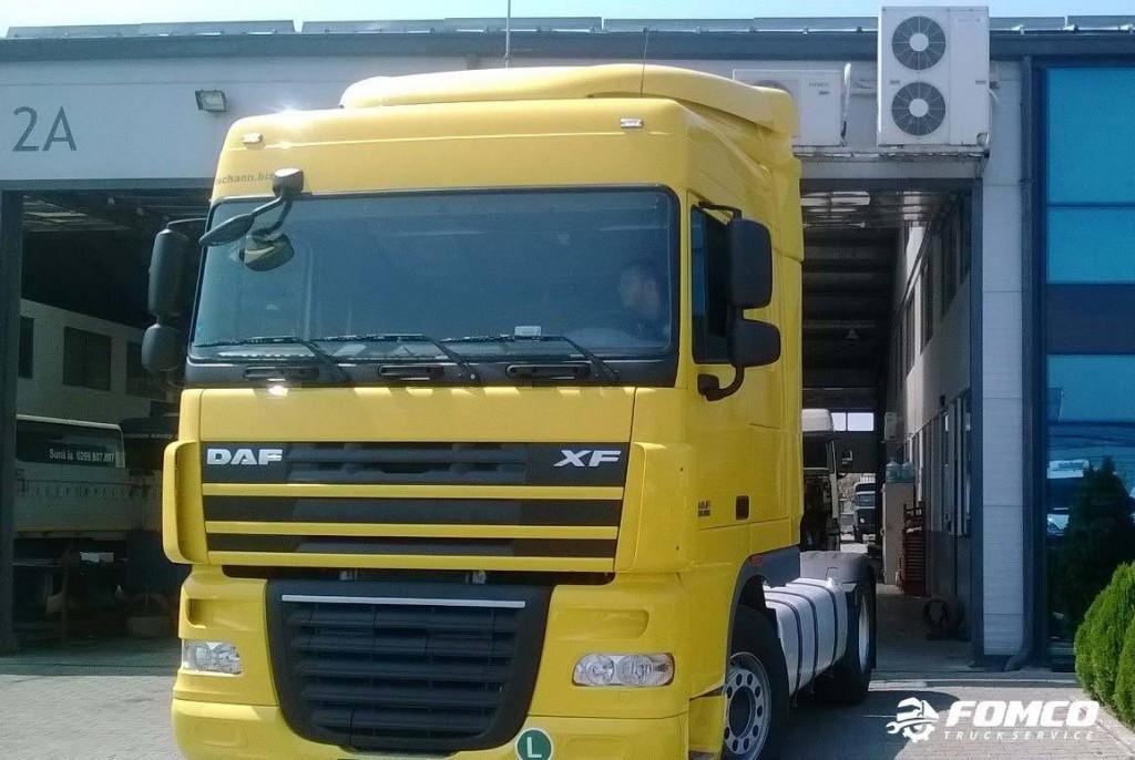 Camion Galben Fomco Truck Service