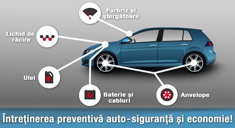 Întreținerea preventivă auto – siguranță și economie!