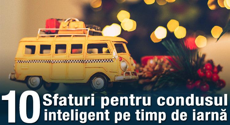 10 sfaturi pentru condusul inteligent pe timp de iarnă