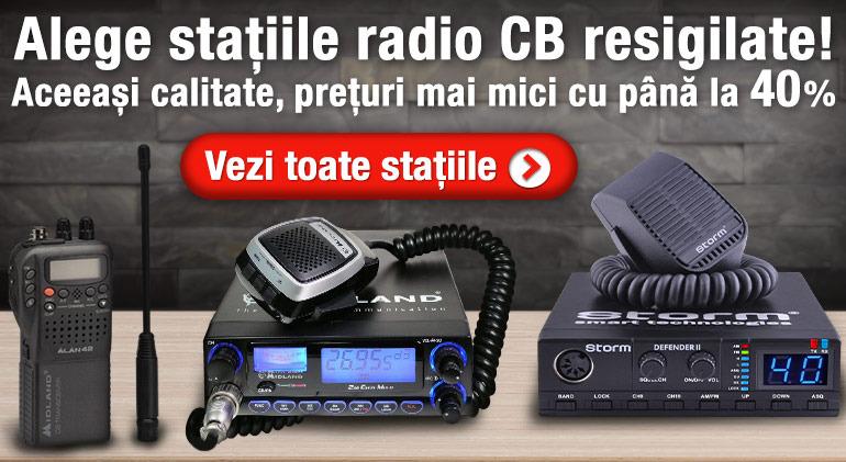 Stații radio CB resigilate, cu până la 40% reducere