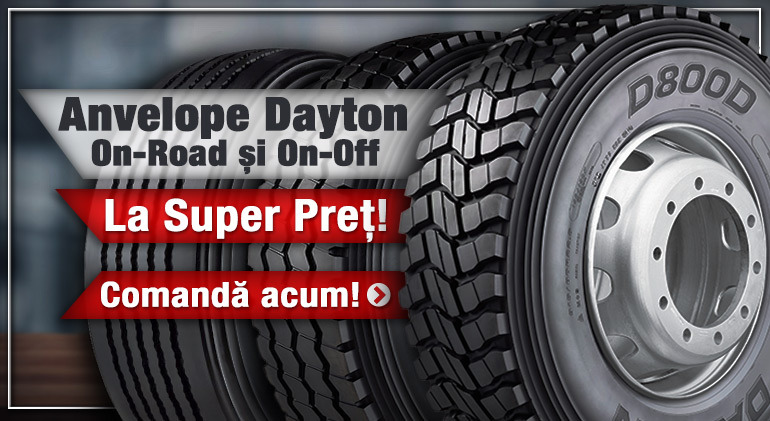 Anvelope Dayton On-Road și Off-Road la Super Preț