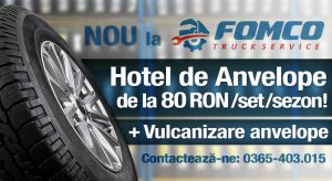 Hotel de Anvelope - Fomco Truck Service