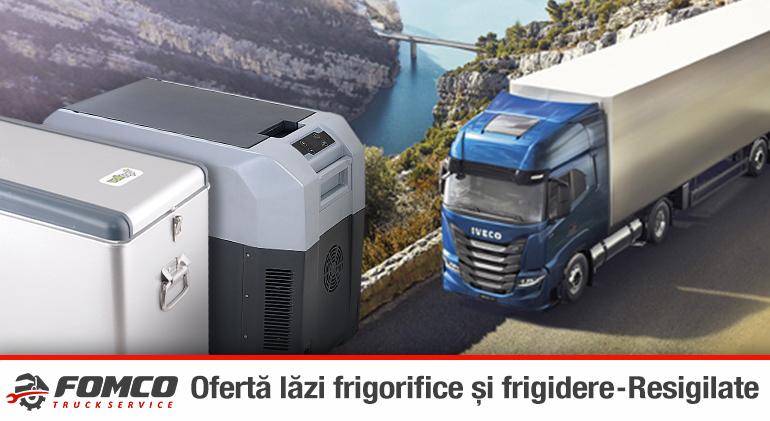 Ofertă lăzi frigorifice și frigidere RESIGILATE